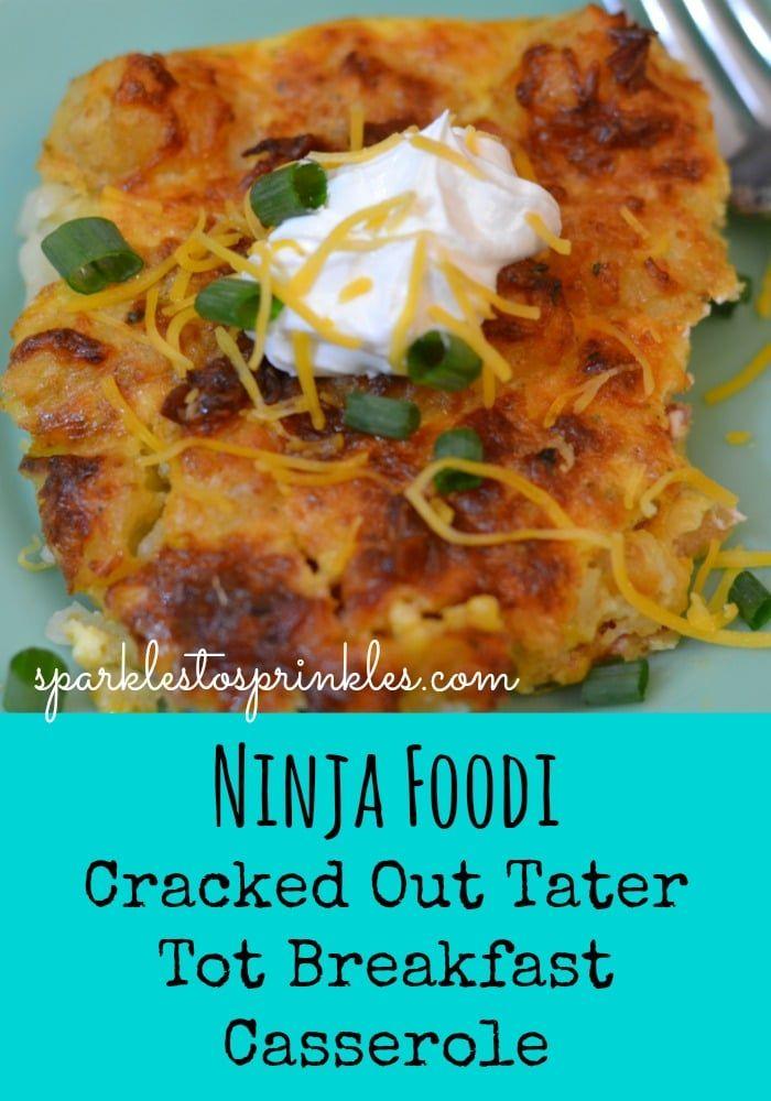 Instant Pot Tator Tot Casserole Recipe