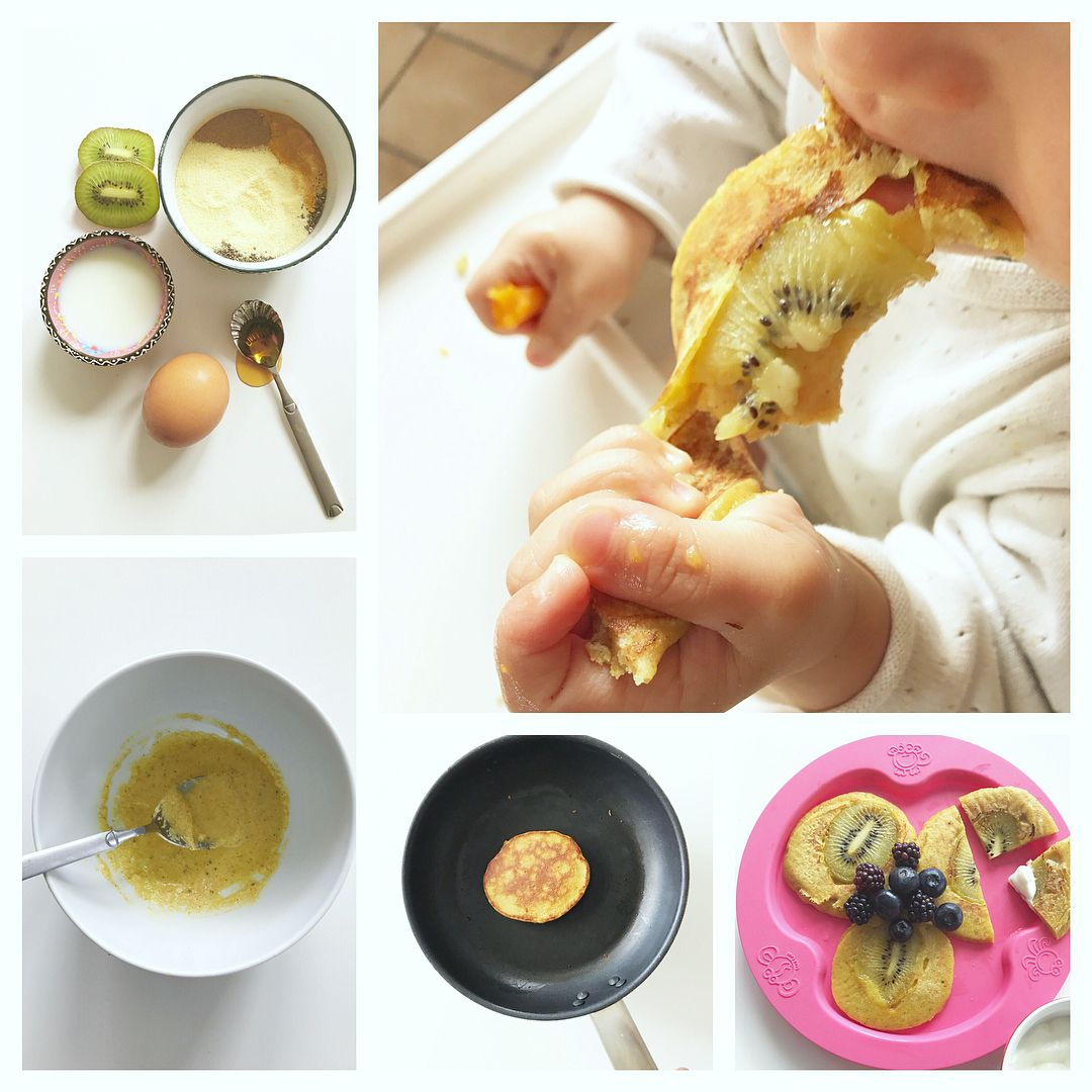 turmeric semolina pancakes 8mo id give this yummy finger food homemade baby toddler food turmeric semolina pancakes id give this yummy finger food please like or comment forumfinder Choice Image