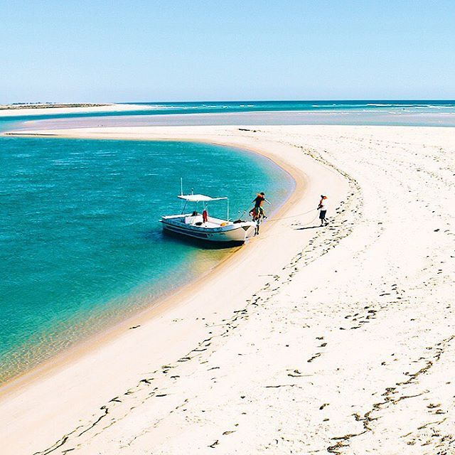 Deserted Island Beach: The Ria Formosa National Park In Portugal Is Full Of