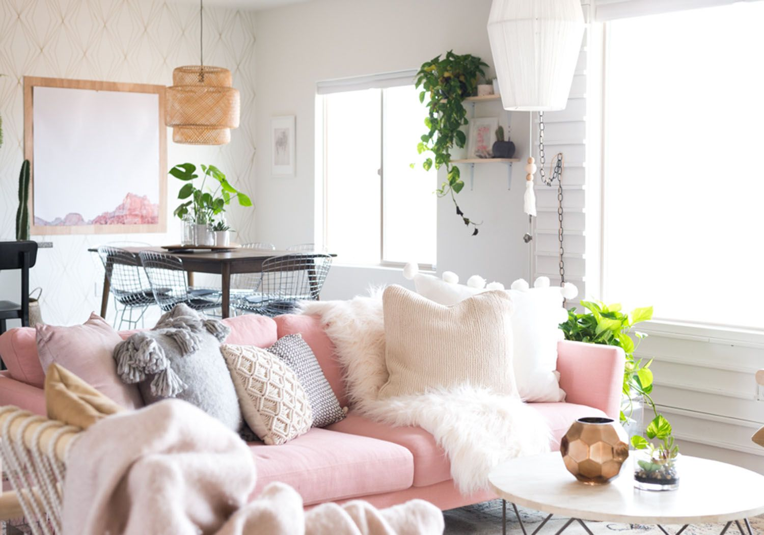 The Top 10 Decor Trends According To Pinterest Minimalist Living Room Design Minimalist Living Room Living Room Designs