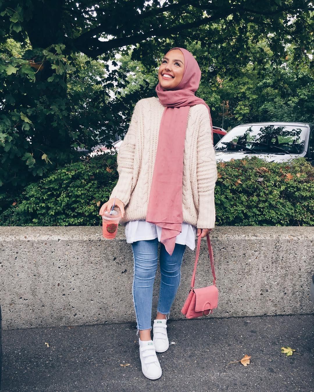 f597dc2491a58 Pin by Trendy Blogger on Başörtüsü Hijab Tesettür Giyim Kombinleri ...