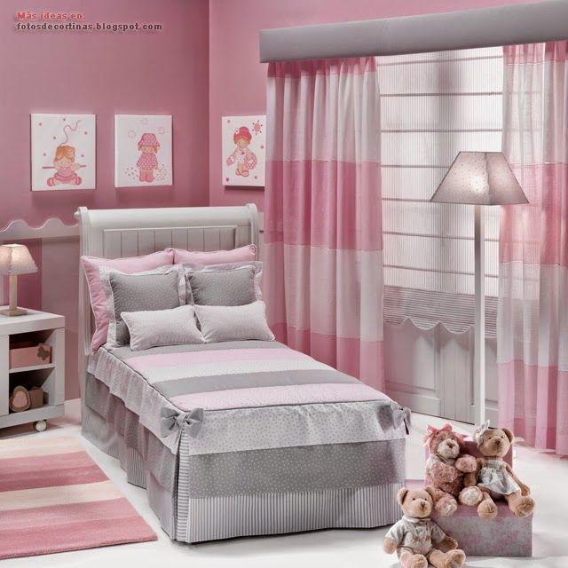 Cortinas infantiles dormitorios para ni as cortinas for Cortinas para dormitorios de ninos