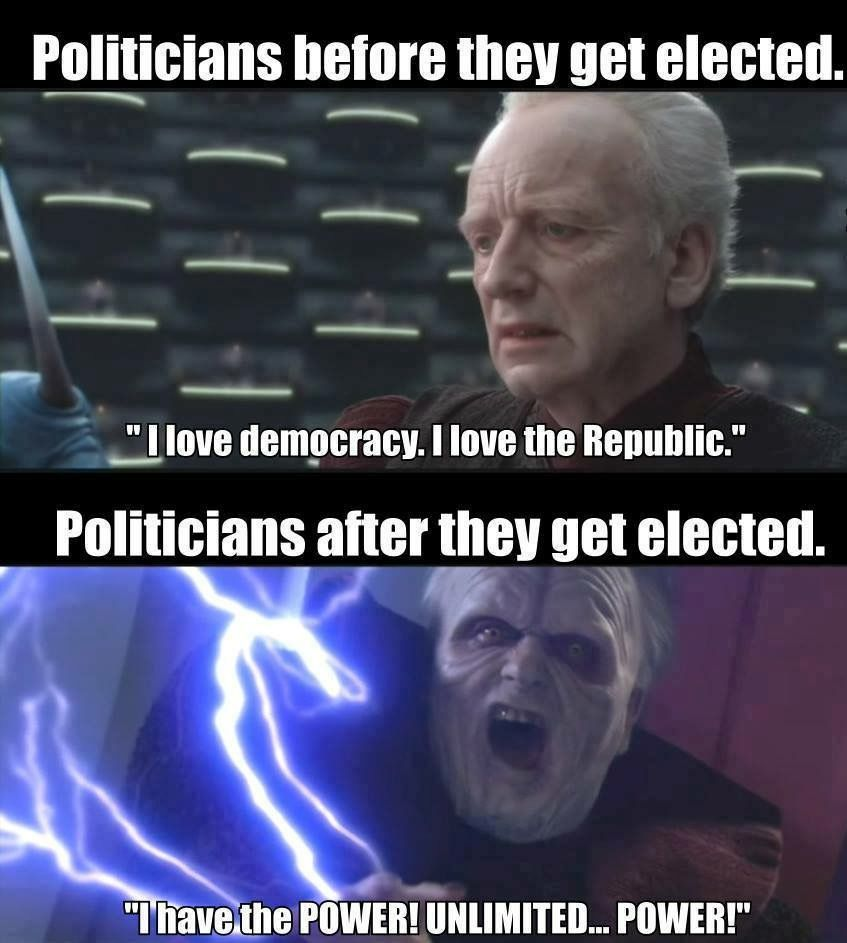 Star Wars Palpatine Meme
