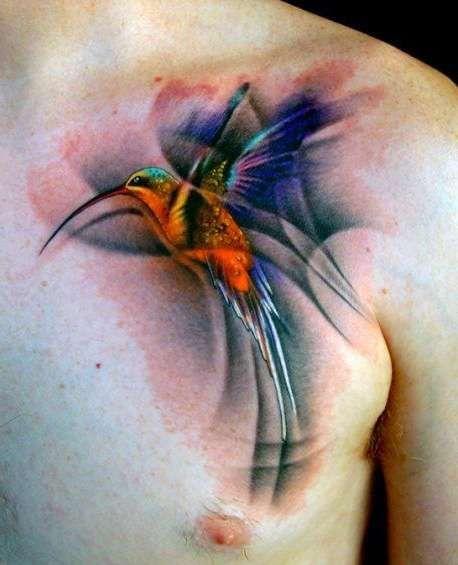 Tatuaże Ptaki Koliber Tattoos Tatuaż Z Kolibrem Tatuaże