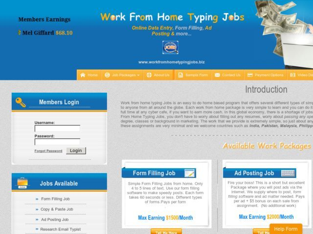 Ad Posting Jobs From Home Typing Jobs Data Entry Jobs Online Data Entry