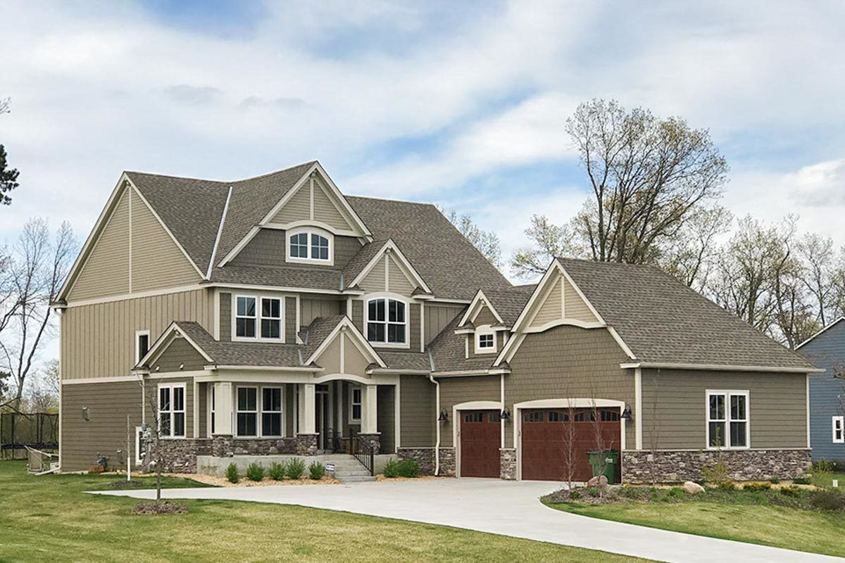 Craftsman house plans Exclusive Five Bedroom Craftsman