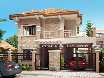 Is  four bedroom two storey contemporary residence having total floor area of sq which can be built in lot with minimum frontage meters also vinay vinaynag on pinterest rh