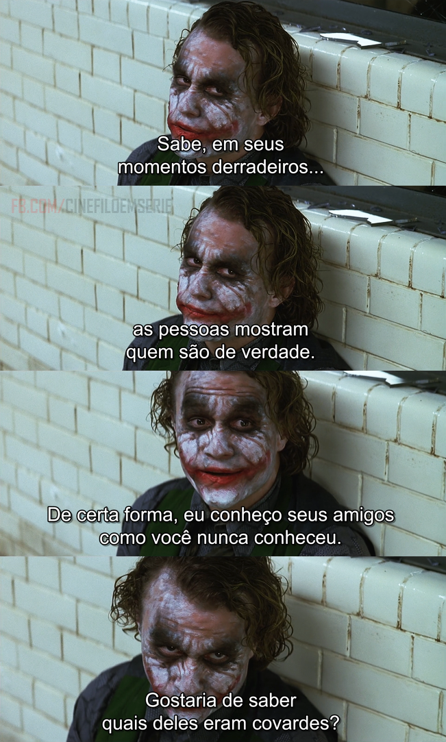 Batman O Cavaleiro Das Trevas 2008 Anime Movies Frases E Batman