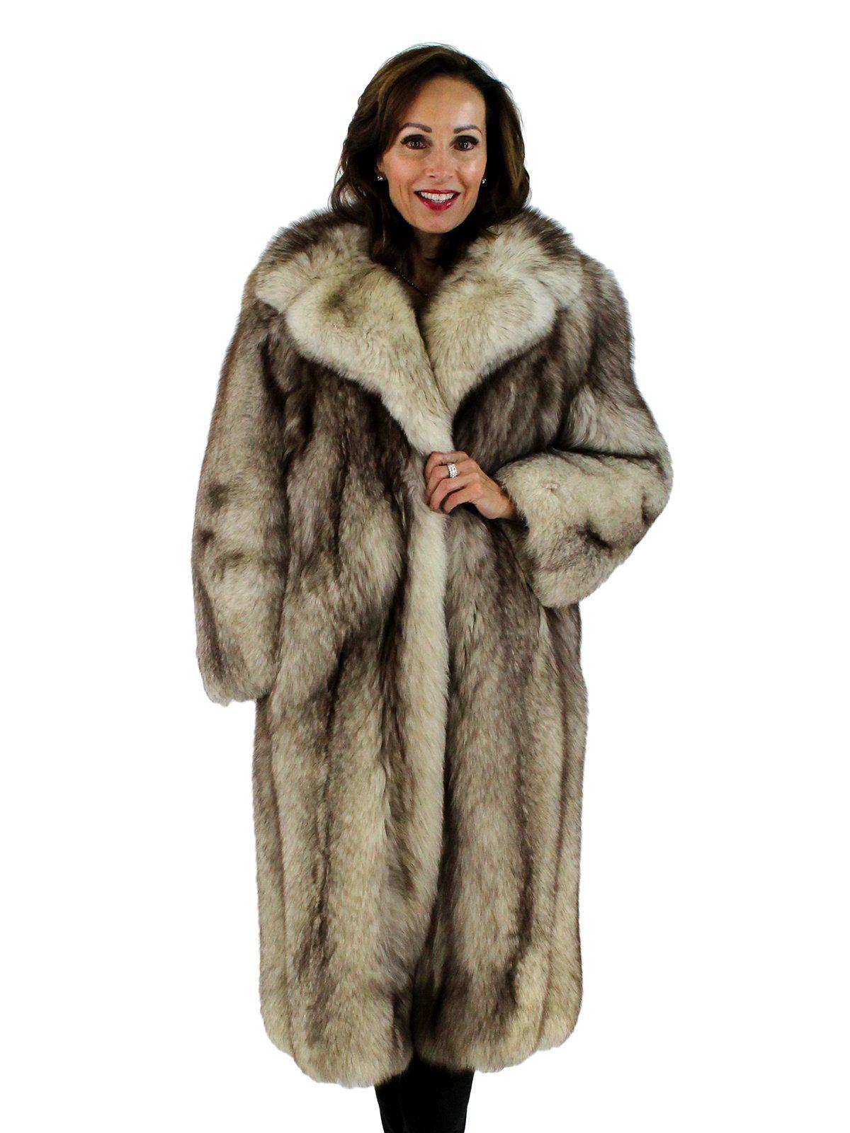 78837d4f6af CrossFox Fur Coat - Women s Medium - Excellent