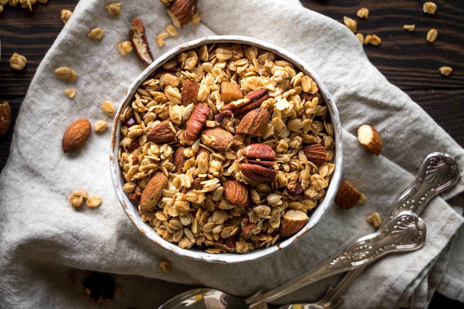Autumn spiced granola recipe fall spices granola spices