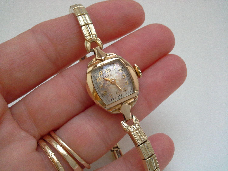 vintage bulova bulova gold filled