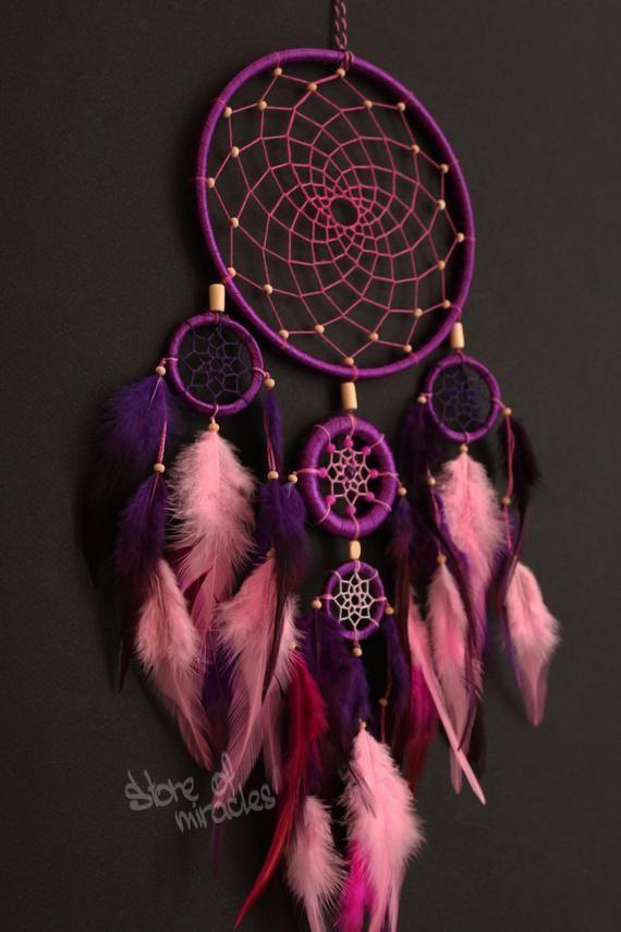 Traumfänger Traumfänger Amerikanische Maskottchen Indischer Talisman | Etsy - #amerikanische #Etsy #Indischer #Maskottchen #Talisman #Traumfänger #dreamcatchers