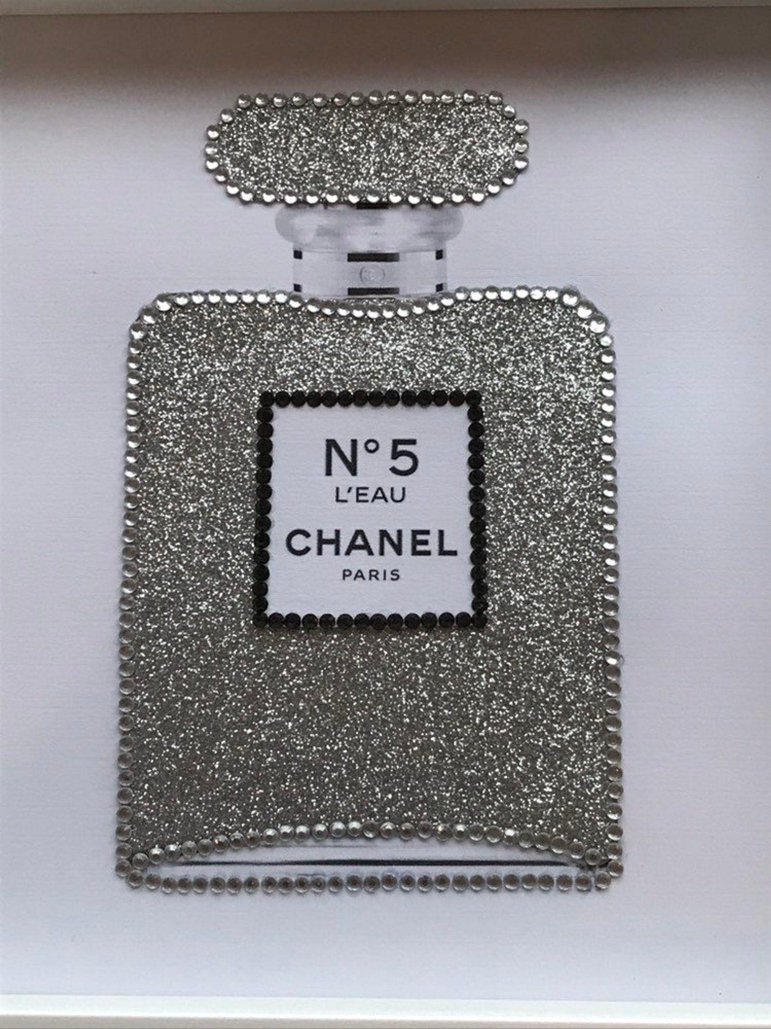 Designer perfume picture framed perfume bottlefashion
