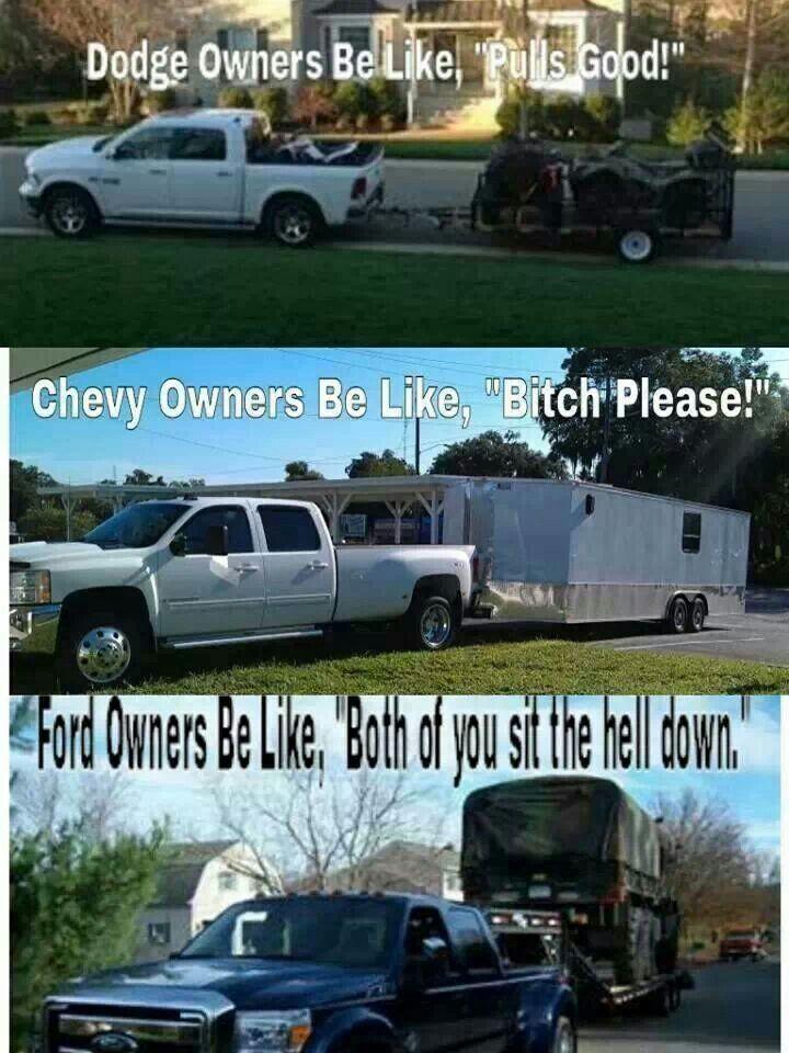 Go Ford Ford Jokes Chevy Jokes Truck Memes