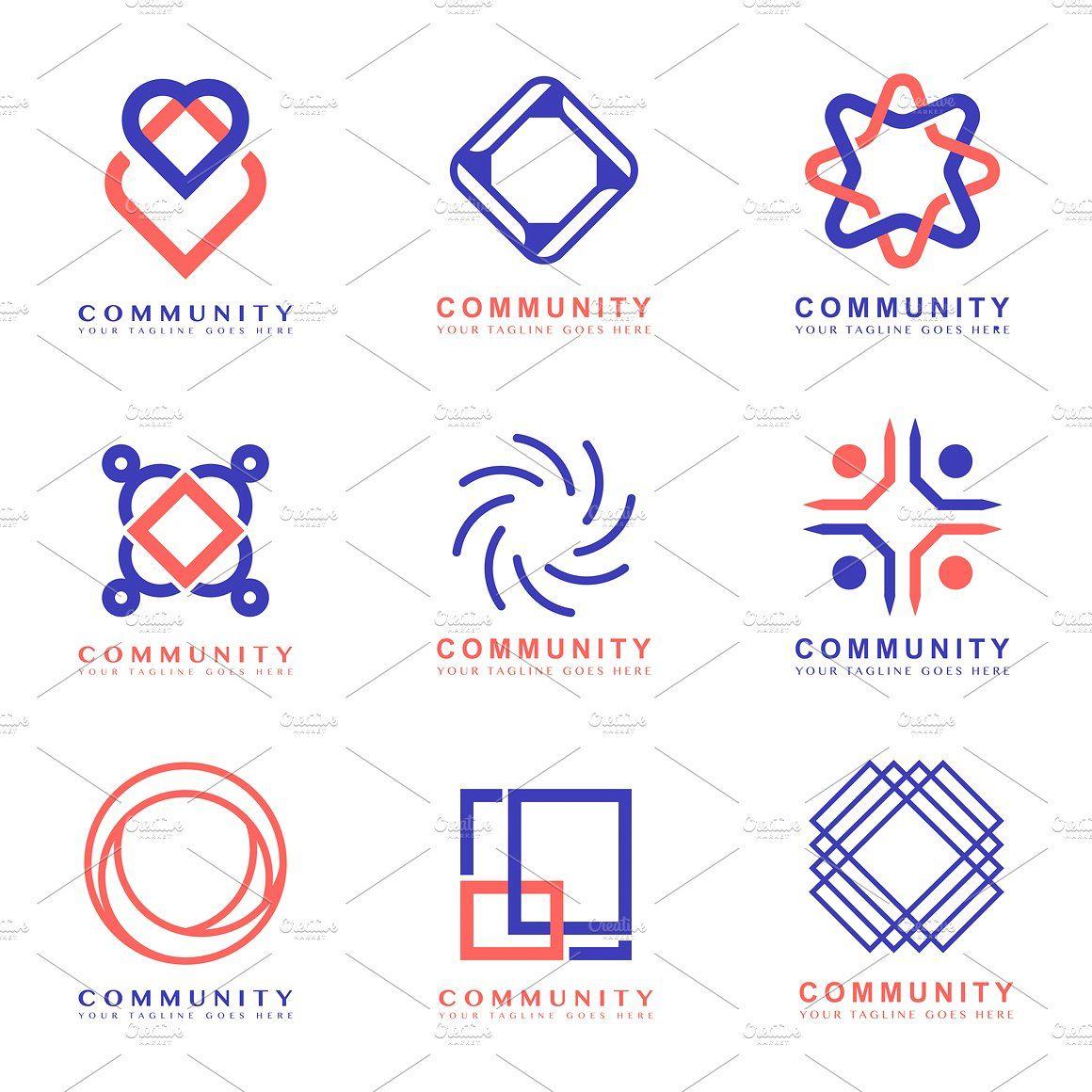 Community Branding Logo Design Art, Blue, Brand, Branding
