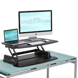 Varidesk Pro Portable Desk Stand Up Desk Ikea Standing Desk