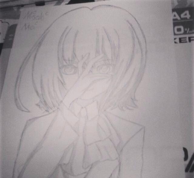 Misaki Mei ^~^ hab ihr ausverschämte Dämonen Augen verpasst :0