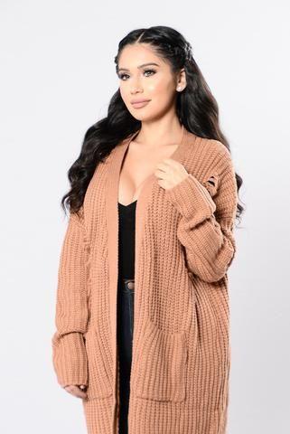 Loneliest Star Sweater - Camel
