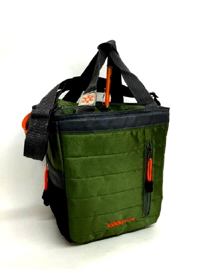 Insulated Lunch Bag Cooler Tote 18 Can Adjule Straps Peva Lining Coolpack