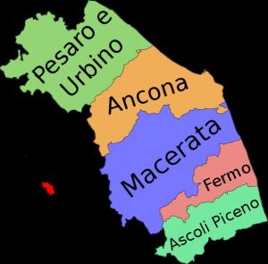 Cartina Puglia Con Province.Il Giro D Italia Con Le Regioni Le Marche Adgblog Mappa Dell Italia L Insegnamento Della Geografia Geografia