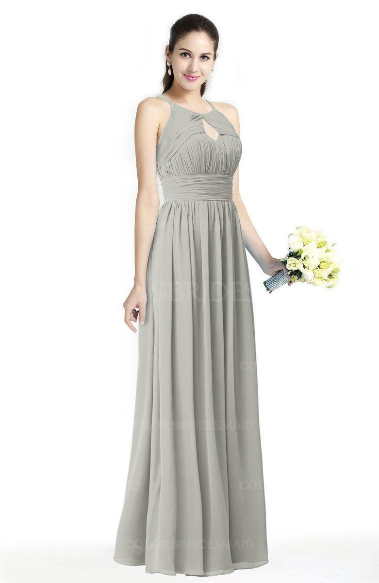 Platinum edition wedding dresses  Platinum Traditional Aline Jewel Sleeveless Zipper Sash Bridesmaid