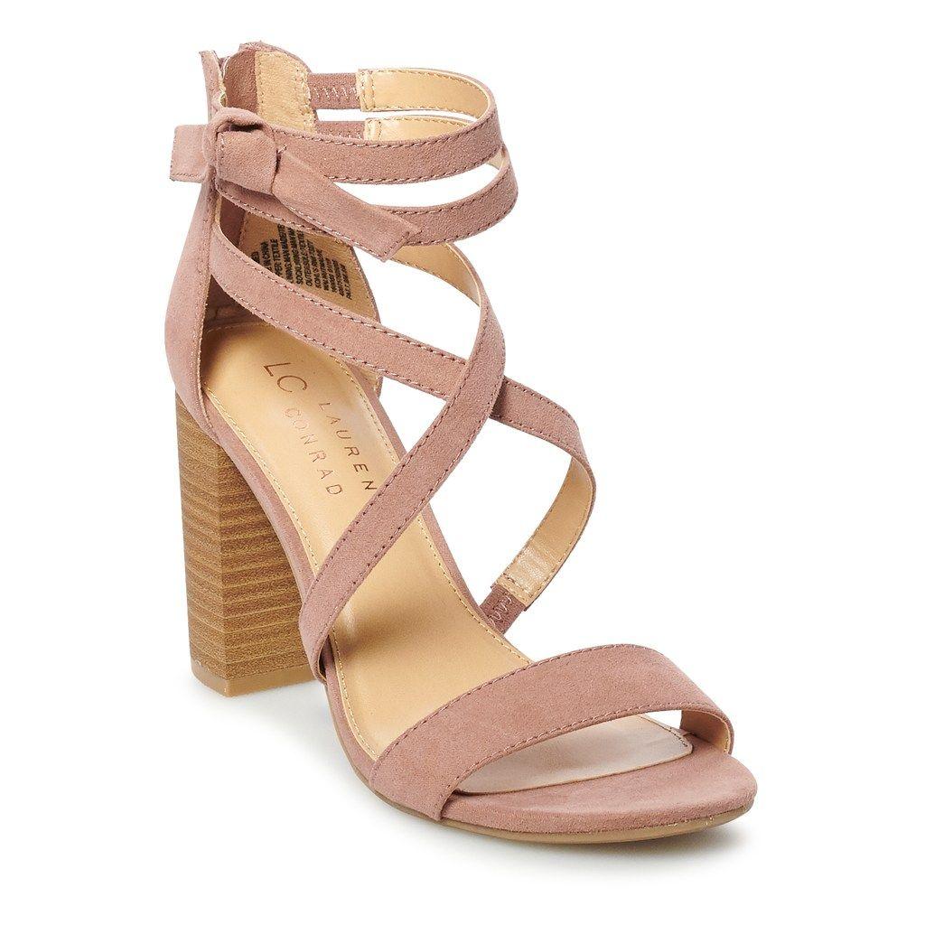 bbe8fa10305 LC Lauren Conrad Walnut Women s High Heel Sandals