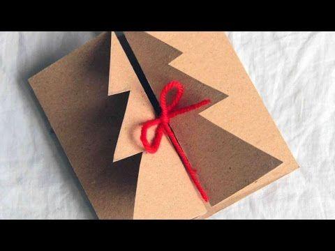 how to make a handmade christmas card diy crafts tutorial
