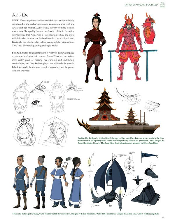 Character Design Avatar The Last Airbender : Kihyun ryu google search avatar pinterest best