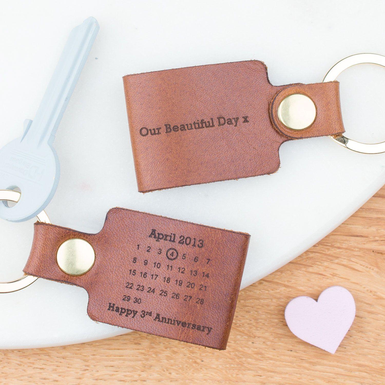 Third wedding anniversary gift uk