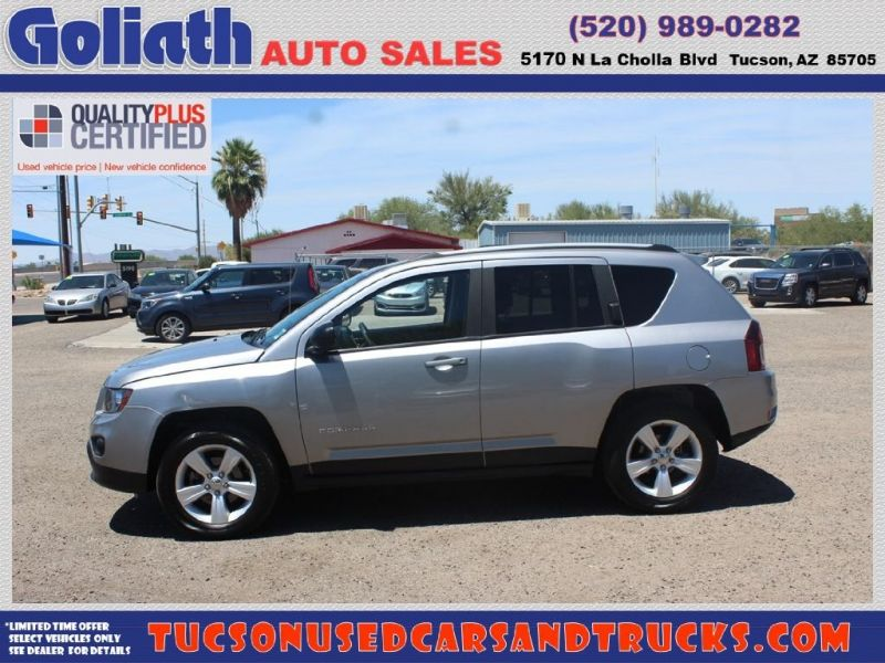 2015 Jeep Compass 4WD 4dr Sport Goliath Auto Sales LLC