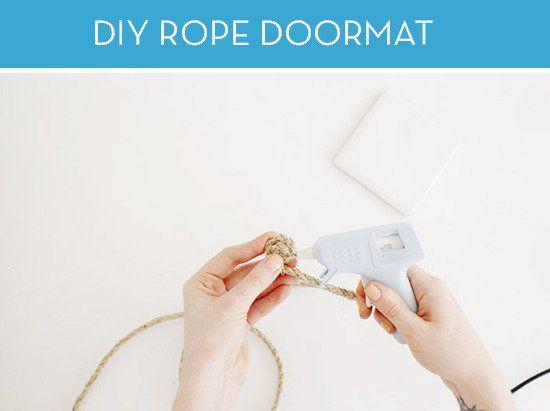 how to make door mat