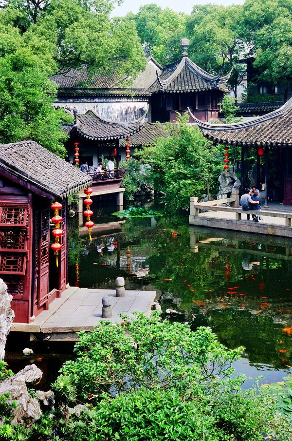 Jardines de suzhou china pinterest china asia y japon - Jardin de china ...