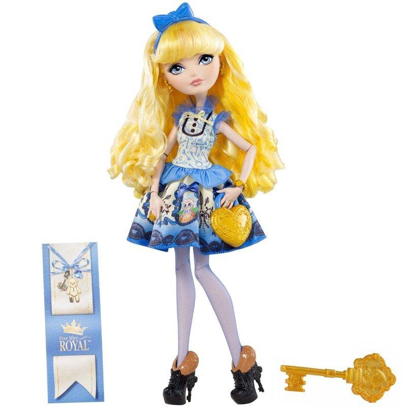 ever after high   Boneca Ever After High Royal Blondie Lockes Mattel levará as ...