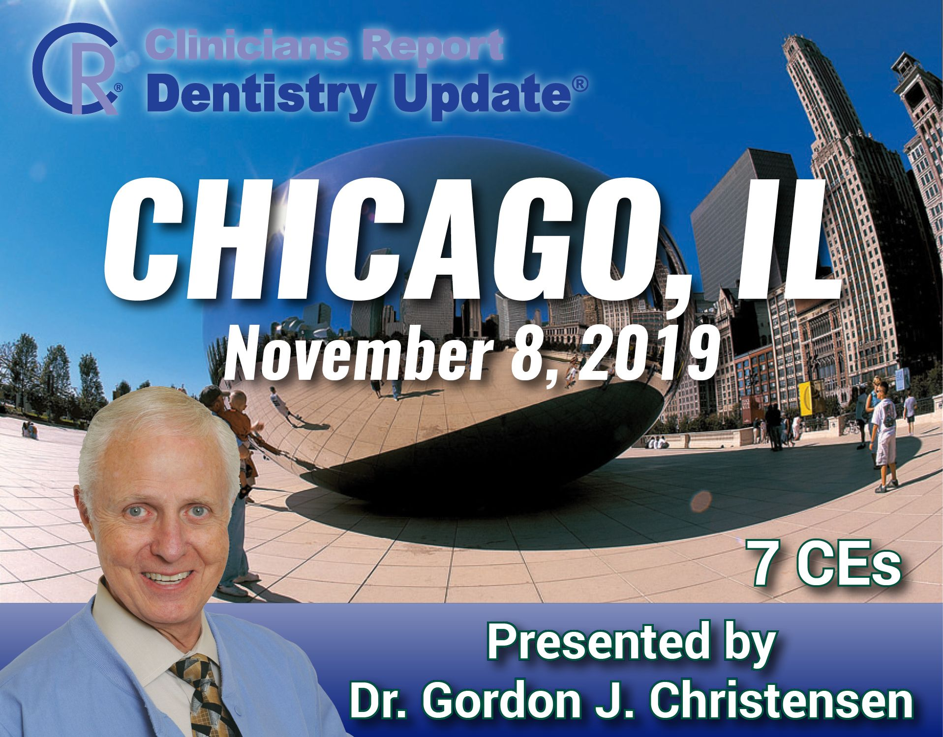 Join Gordon in Chicago for his penultimate 2019 CR