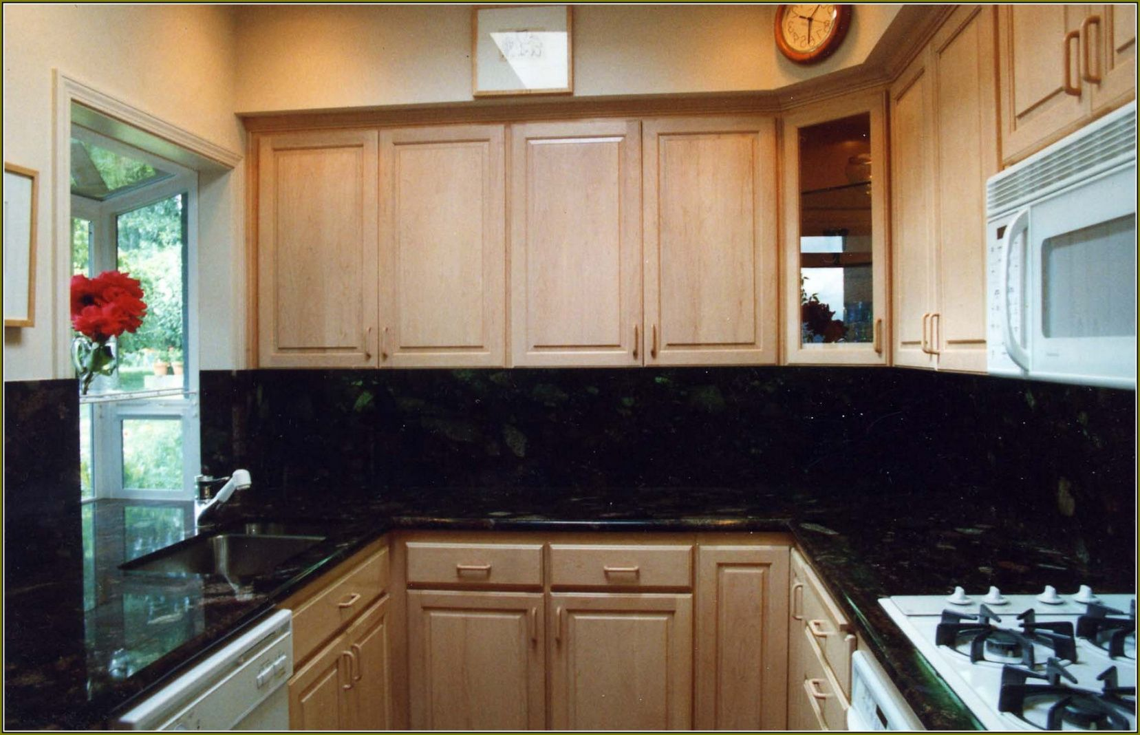 77+ Natural Maple Cabinets with Granite Countertops ... on Natural Maple Cabinets With Black Granite Countertops  id=36735