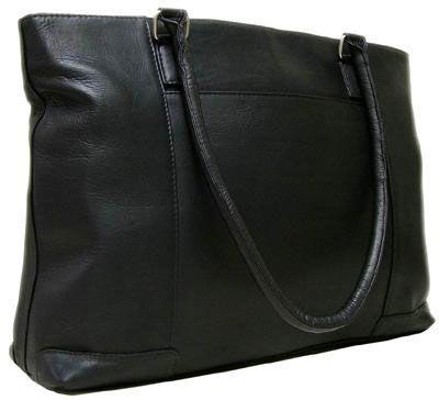Le Donne Vaquetta Leather Women's Laptop Tote