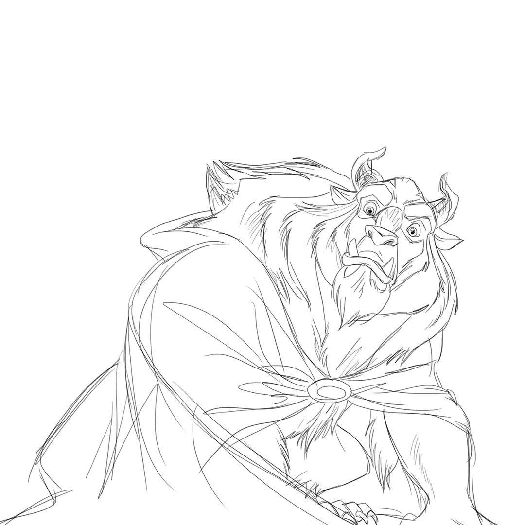 Beauty And The Beast Beast Prince Adam