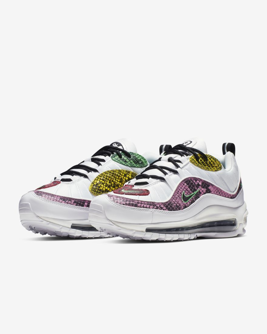 huge discount 7d9a9 08965 Nike Air Max 98 Premium Animal Women s Shoe.