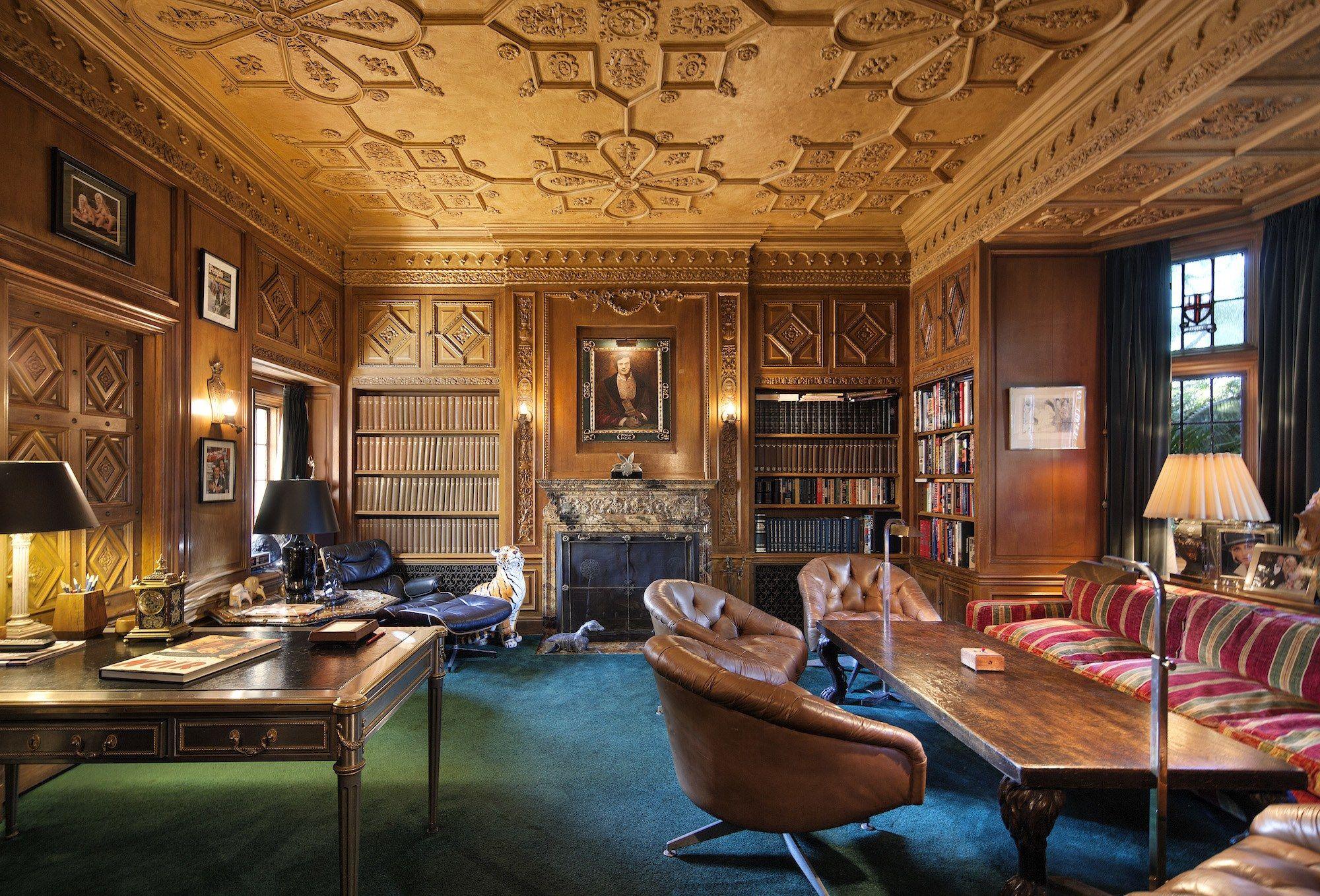 Playboy Mansion Sold But Hugh Hefner Is Staying Mansion