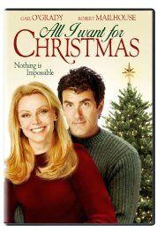 All I Want For Christmas 2007 Hallmark Movie Best Christmas Movies Christmas Movies Top 10 Christmas Movies