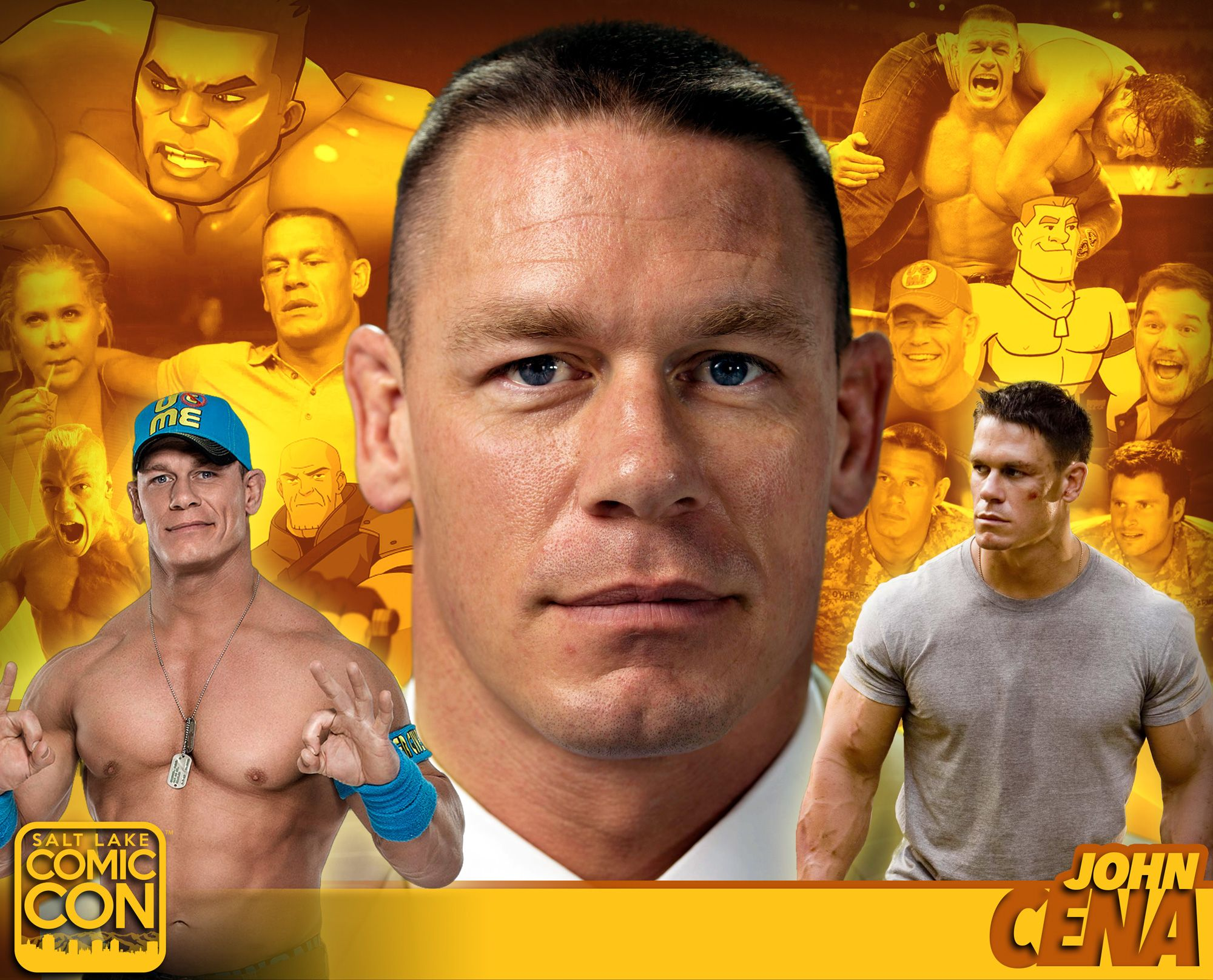 *PIN to WIN* Meet pro wrestler John Cena at #SLCC16! WWE SmackDown Live…