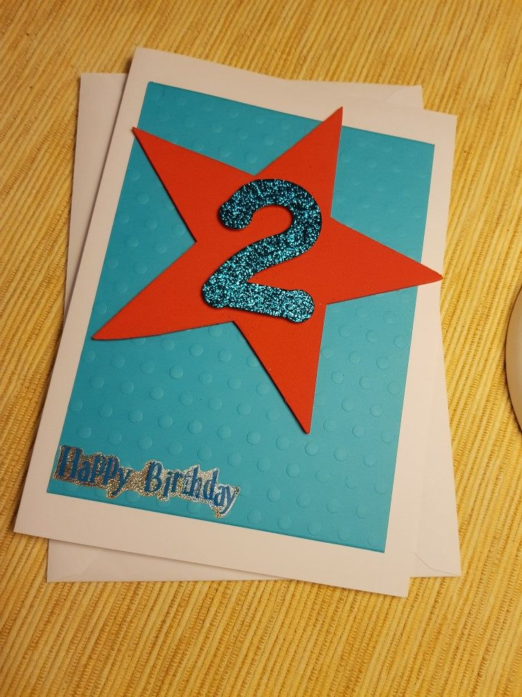 2nd Birthday Card Kids Cards Brides