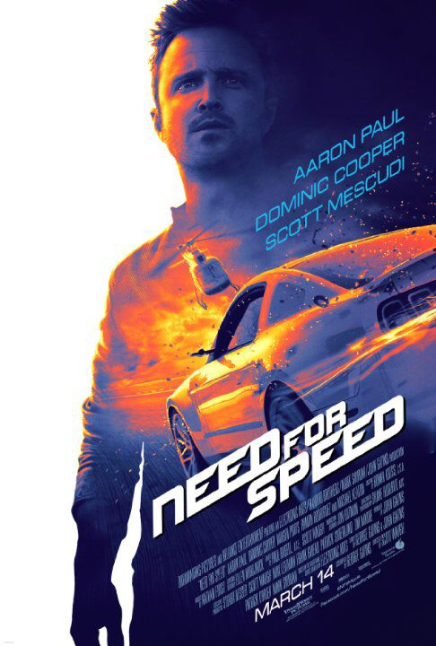 Need for Speed (2014) illegal street racing in fast cars. If you like cars you will love it.
