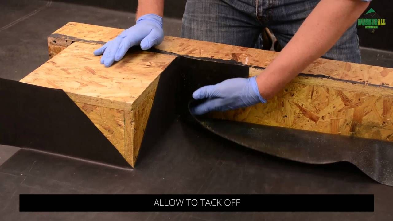 How To Install A Rubber Flat Roof Part 5 Internal And External Corne Rubber Flat Roof Roof Replacement Cost Fibreglass Roof
