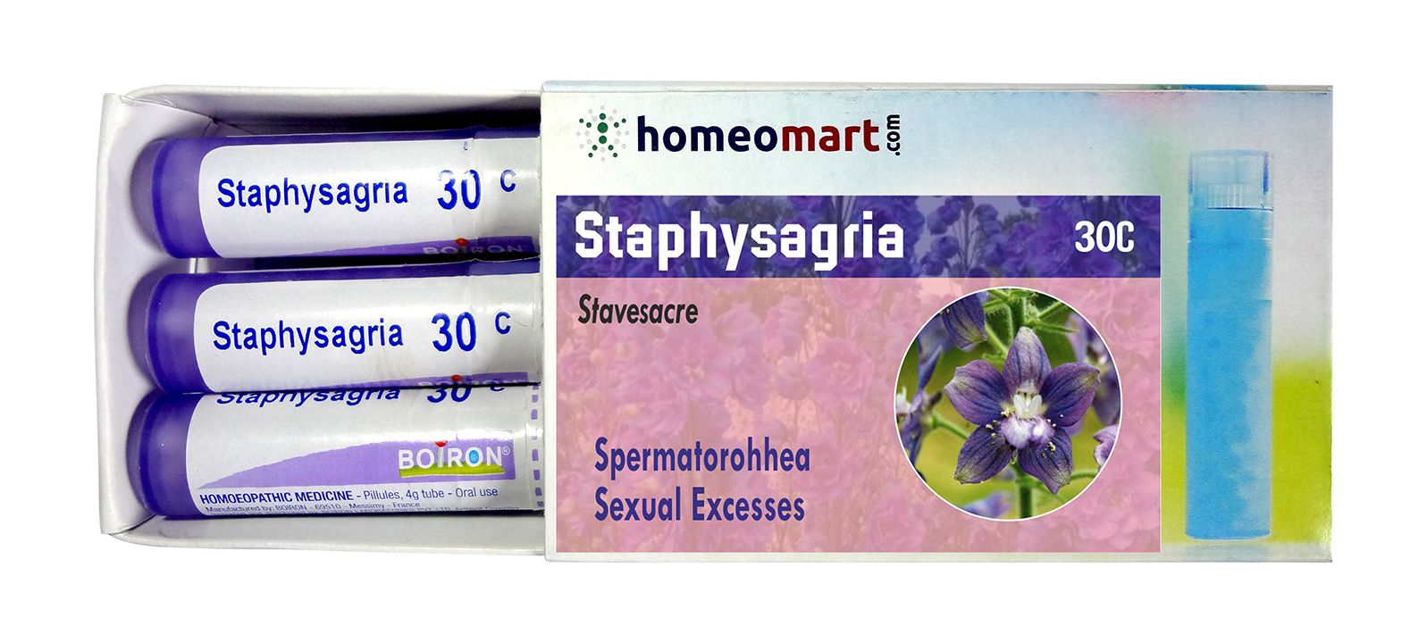 Homeopathy Staphysagria Remedy Kit for Sexual excesses