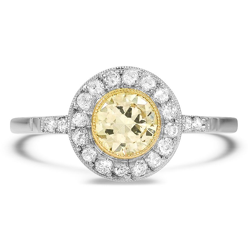 1bd7e71f2 Platinum, 14K Yellow Gold The Lighthouse Ring in 2019 | hopefully ...