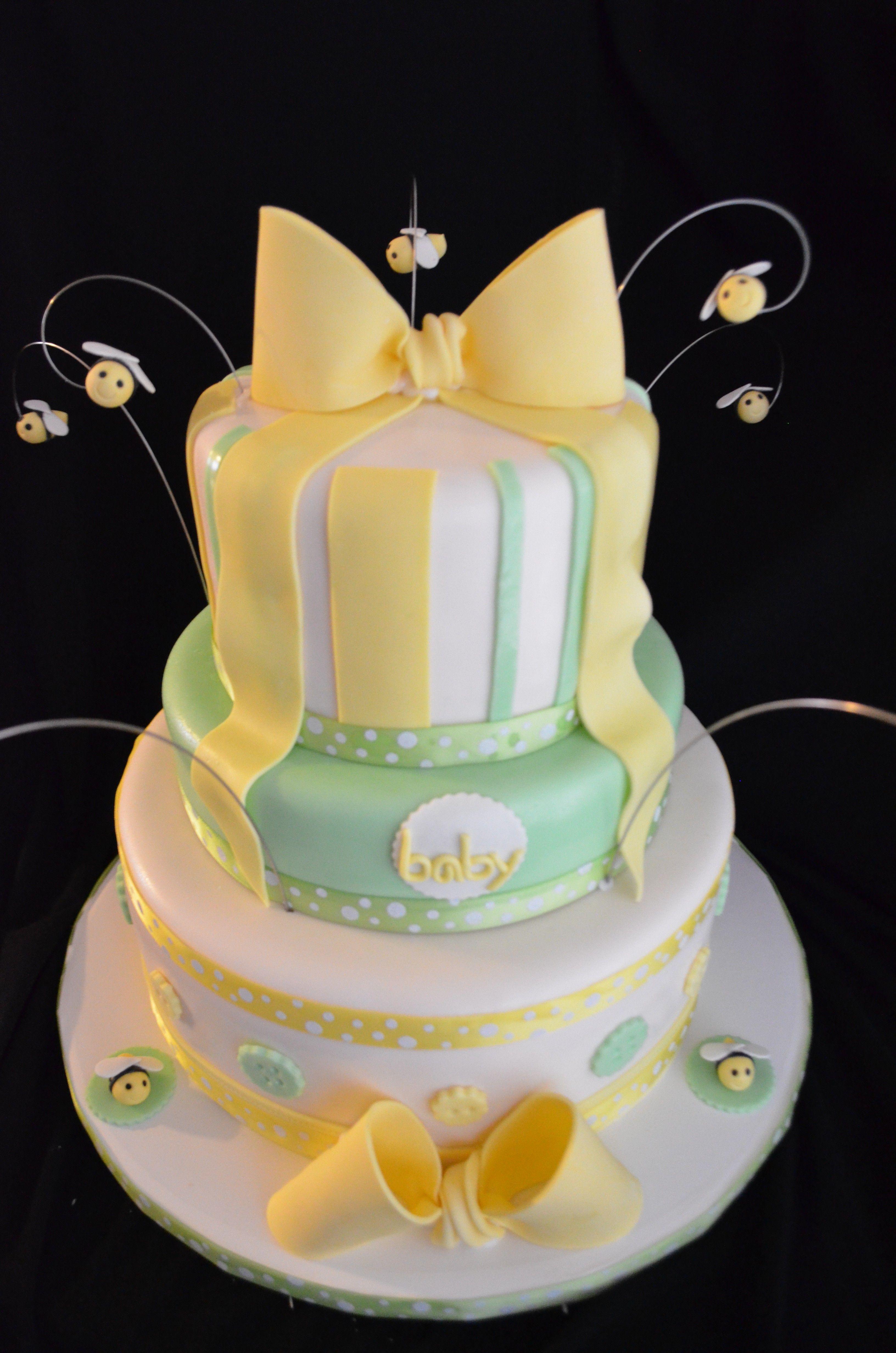 Gender neutral baby shower ideas pinterest - Gender Neutral Baby Shower Cake