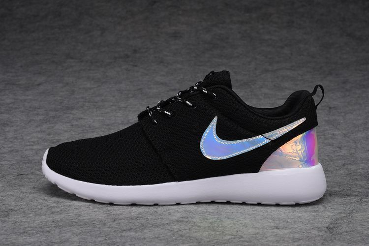 size 40 2cb4b c9375 Nike Roshe Run Black White Multicolor Special Made Hot Fashion Women Shoe   Nike  RunningCrossTraining