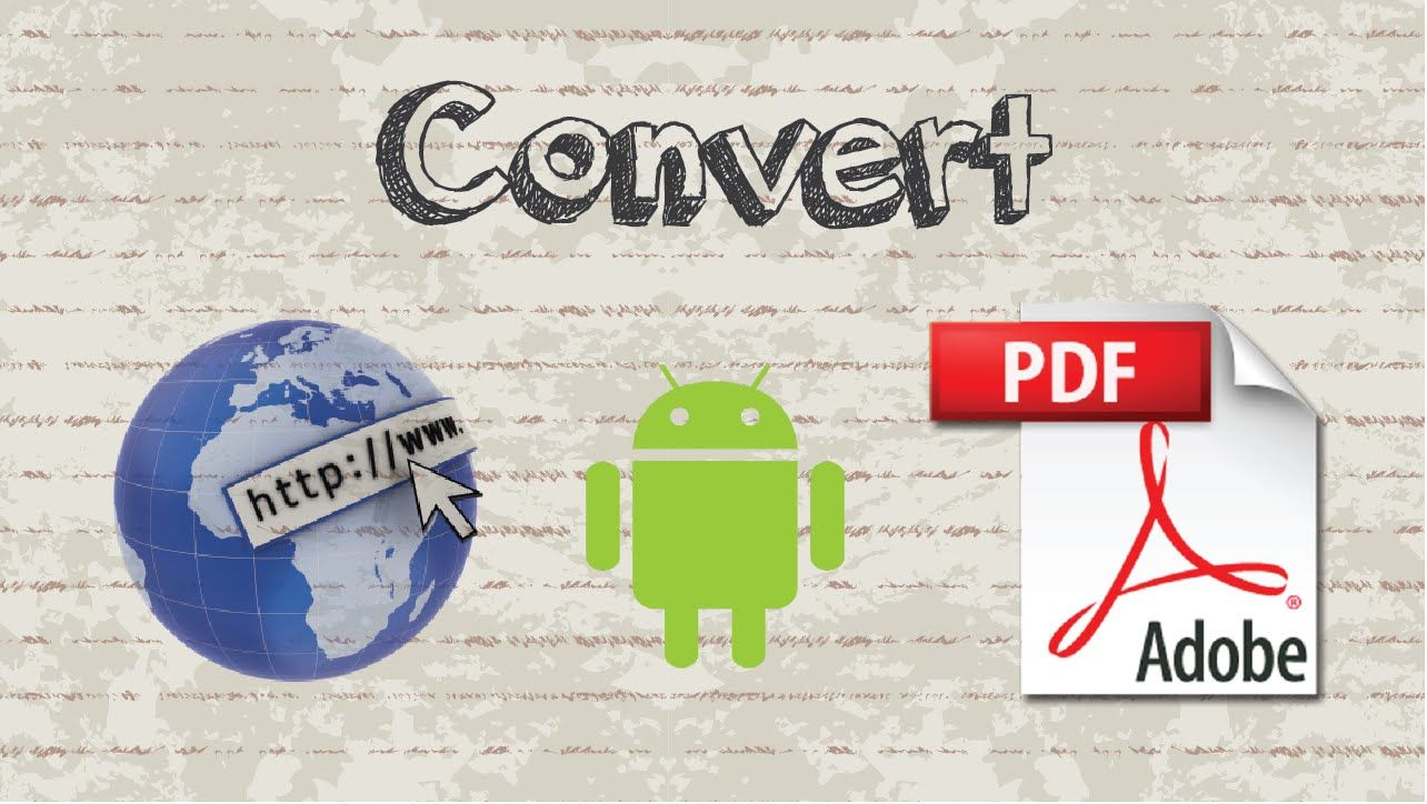 How to convert Webpage to PDF on Android without any apps