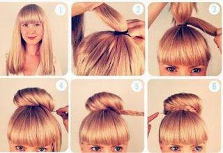 Coiffure Originale Pour Cheveux Longs Et Mi Longs Coiffure Vie Facile Coiffure Facile Coiffures Simples Chignon Facile